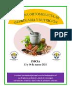 Medicina ortomolecular - herbolaria y nutrición _ 2021