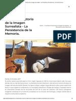 Una Breve Historia de la Imagen Surrealista - La Persistencia de la Memoria. _ The Dalí Universe