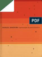 Apresentação da poesia brasileira - Manuel Bandeira