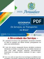 Os Serviços, Os Transportes No Brasil (2)