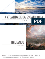 A Atualidade Escatologia Aula04