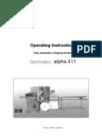 Manual de operare Komax Alpha 411