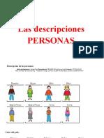 Descripciones Personas