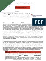 roteiro de LINGUA PORTUGUESA crv Orientaçoes pedagógicas e roteiro de atividades