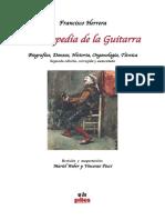 Enciclopedia de la Guitarra Francisco Herrera