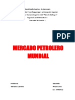 Mercado Petrolero Mundial