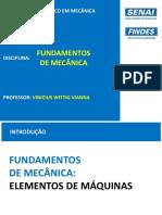 Aula 6 - Fundamentos de Mecânica