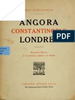 Angora Constantinople Londres par Berthe Georges-Gaulis