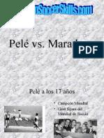 Pele vs Maradonar