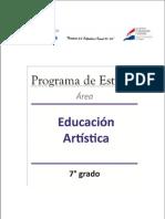 Educ. Artística 7° Grado PDF