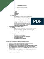 Vias de Administração de drogas - 24.08.2020