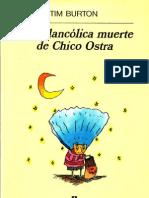 Chico Ostra Tim Burton