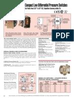 Dweyer Pressure Switch
