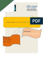 Evaluation à la juste valeur IFRS 13 - Rapport et cas pratiques