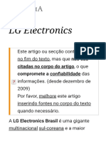 LG Electronics – Wikipédia, a enciclopédia livre
