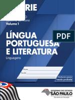 CadernoDoAluno 2014 Vol1 Baixa LC LinguaPortuguesa EM 1S