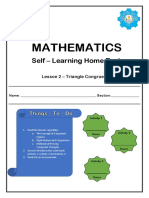 Quarter 3 Lesson 2 - Triangle Congruence