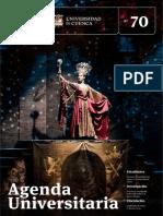 Agenda Universitaria - Septiembre 2018