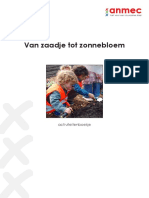 Van Zaadje Tot Zonnebloem. Activiteitenboekje