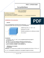 Les Polynomes Cours 3