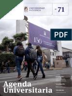 Agenda Universitaria - Octubre 2018