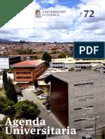 Agenda Universitaria - Noviembre 2018