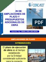 Gestion de Ampl Plazo y Adic Obra_CENCACIT_ene_2021