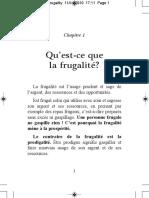 FR - Frugality
