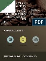 COMERCIANTE Y ACTOS DE COMERCIO