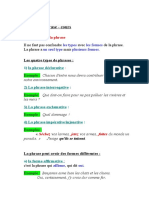 LES FORMES DES PHRASES (AutoRecovered)
