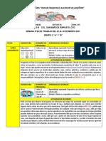 28) PLANEACIÓN DEL 22 AL 26 DE MARZO 2021