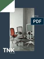 Sillas Oficina Tnk Flex Catalogo