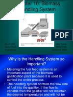 Chapter 10 - Biomass Handling System