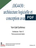 Cours 1 - Conception architecturale 1