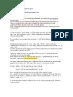 QUANTIZAÇÃO E CODIFICAÇÃO ( Elet. digital )