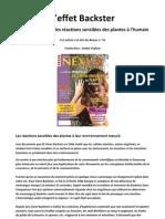 Nexus 35 - L'effet Backster - La science mesure les réactions sensibles des plantes à l'humain (nov 2004)