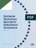 Interim National Security Strategic Guidance March 2021