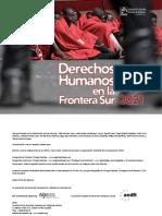 Informe Frontera Sur 2021