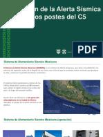 DIFUSIÓN ALERTA SÍSMICA C5