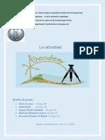 Géodésie pdf