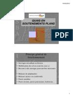 3.2 - Soutènements plans