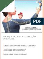 fisiologia da contração muscular UNIFOA