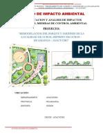 Estudio de Impacto Ambiental - Parque Ocros