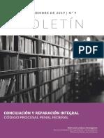 MPD. Conciliación y reparación integral CPPF hasta noviembre 2019