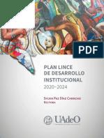 Plan Lince de Desarrollo Institucional 20 24