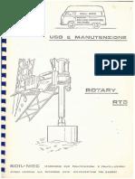 Manual de uso e manutenção RT3