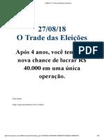 27_08_18 O Trade das Eleições