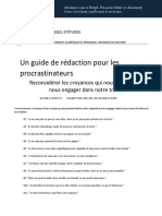 Procrastinator s Guide to Writing Revised August 2012 FR