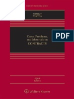 Cases, Problems, And Materials on Contracts (Aspen Casebook Series) 8th Edition by Douglas J. Whaley