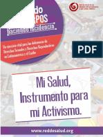 Documento Teorico Mi Salud Instrumento Para El Activismo